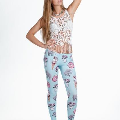 Fusion Printed Leggings