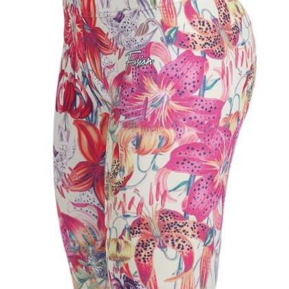 Tropic Exotic Printed Leggings by F..
