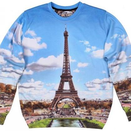 Paris Printed Sweatshirt by Fusion