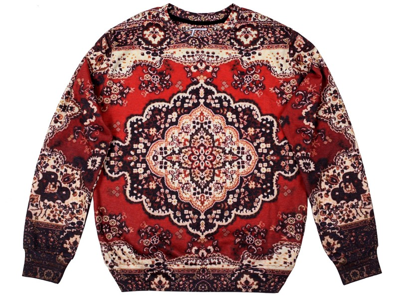 Carpet Sweatshirt by Fusion